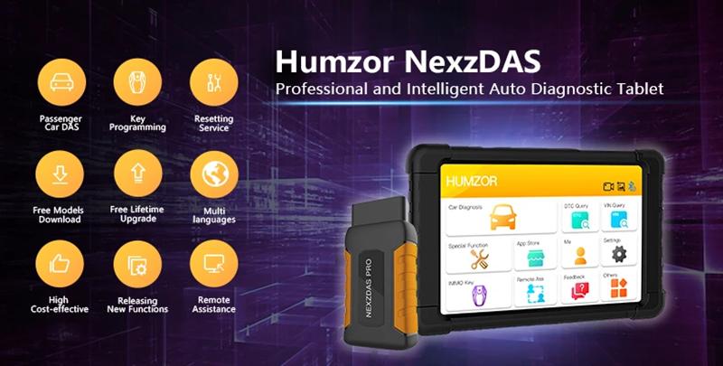 Humzor NexzDAS Pro Full-System Diagnostic Tool