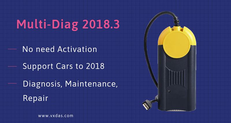 Multi-Diag 2018.3_VXDAS