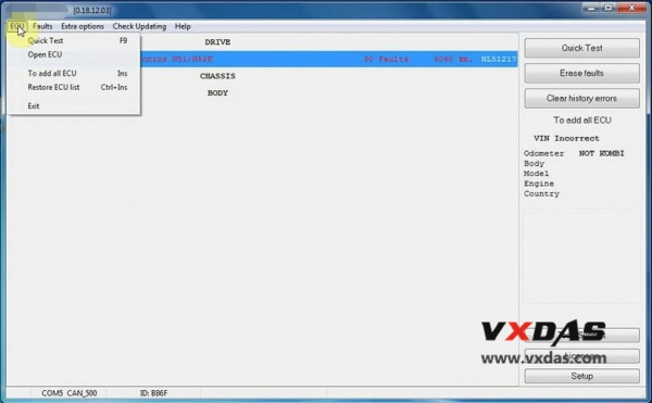 BMW E/F Scanner II V2018 12 Software Free Download - VXDAS Official Blog