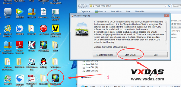 how to install original plan vcds interface vcds software v18.9.1-20