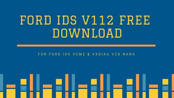 Ford ids software Free Download v112 for ford ids vcm2 - VXDAS