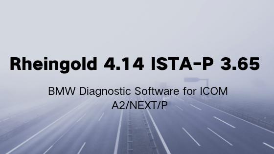 BMW Diagnose Software Ista D 4 14 BMW Rheingold Free Download