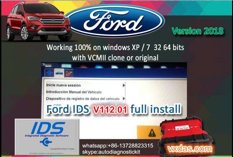 Ford ids software Free Download v112 for ford ids vcm2