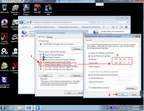 How to set WIFI for SD C4 - VXDAS