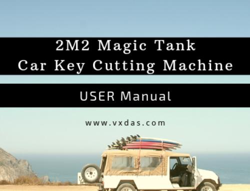 2M2 Magic Tank Automatic Car Key Cutting Machine User Manual