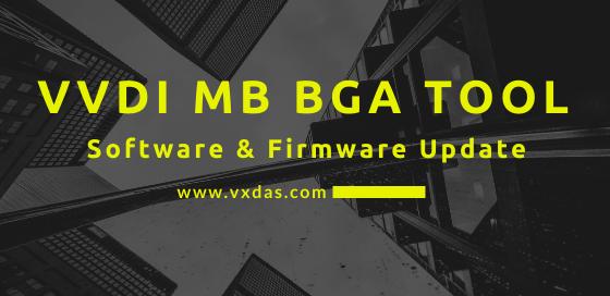VVDI MB BGA Tool Software update