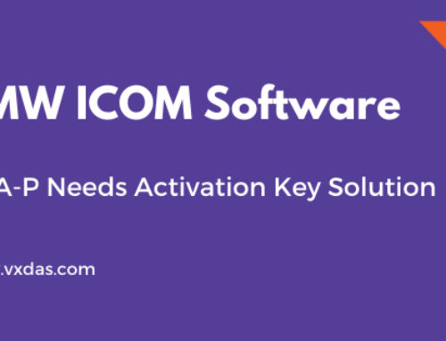How to Solve BMW ICOM Software ISTA-P Need Activation Key?