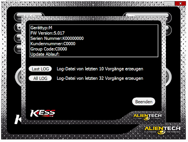 Kess V2 Master V5.017 Ksuite 2.53 Software Display_VXDAS 2