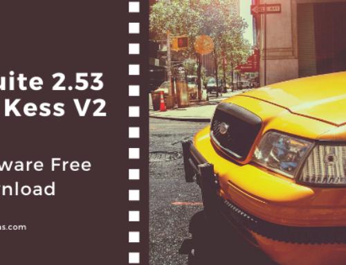 Ksuite 2.53 for Kess V2 Master V5.017 Software Free Download