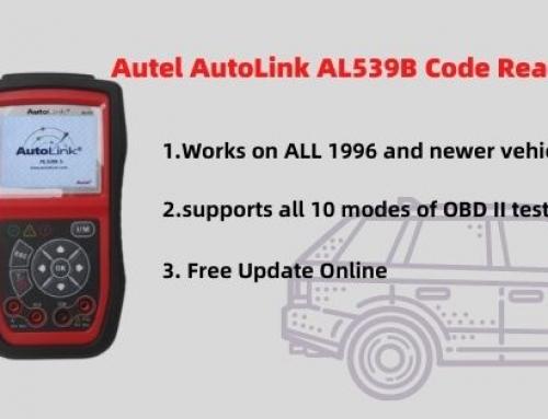 Autel AutoLink AL539B New Code Reader User Manual