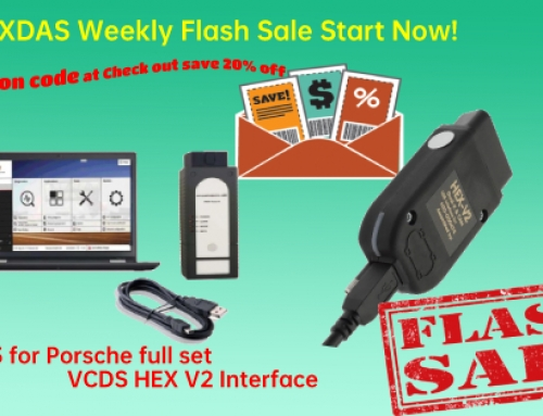Weekly Flas Sale! Piwis 3 Hex VCDS V2 20% Off!