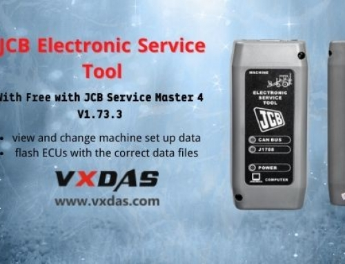 JCB Electronic Service Tool With Free SM4 V1.73.3 Software
