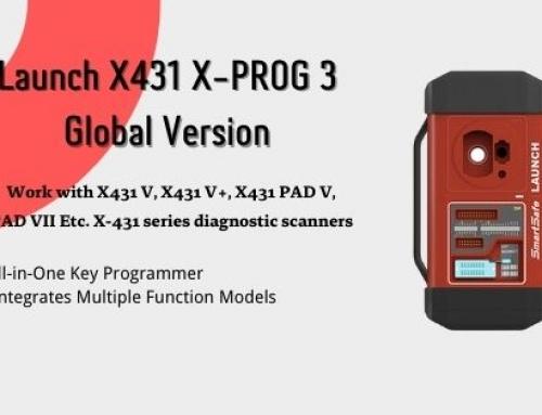 Launch Xprog 3 Key Programmer User Manual