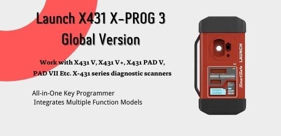 Launch Xprog 3