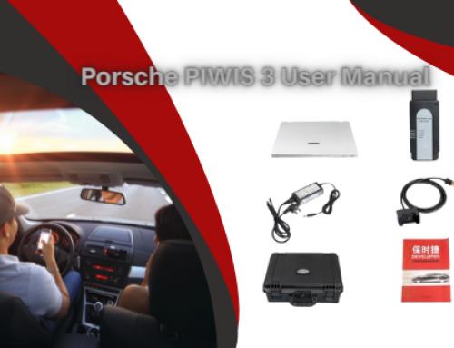 Piwis 3 User Manual_Porsche Cayenne 92A Diagnosis