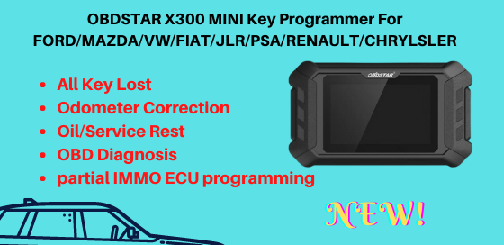 OBDSTAR X300 MINI Key Programmer